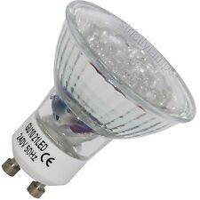 2 GU10 21 LED Energy Saving Light Bulbs £7.99 delivered