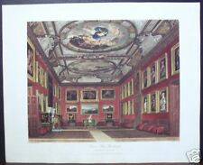 "W. H. Pyne: ""Queen's State Bedchamber, Windsor Castle"""
