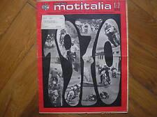 MOTITALIA #1-2 1970 CENTAURO CLUB SIRACUSA TRIAL LAVERDA 1000 750S MUNCH 1200