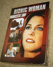 The Bionic Woman: Season 2 (DVD, 2011, 5-Disc Set), NEW AND SEALED, REGION 1