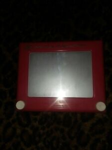 Vintage 1960s  ETCH-A-SKETCH Magic Screen Toy  505 Ohio Art USA  Works