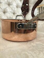 All-Clad copper core 3qt sauce pan saucier pot skillet  coccotte new