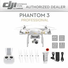 DJI Phantom 3 Professional 4K Drone / UAV bundle + 1 additional Battery