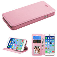 IPHONE 6S/6 - MYBAT Pink MyJacket Wallet(with Tray)(565) (with Package)