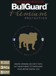 BullGuard 2021 Premium Protection Internet Security 3 Users 1 Year - Download