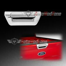 15-17 Ford F-150 Chrome Tailgate Liftgate Rear Door Handle Cover w/o Camera Hole