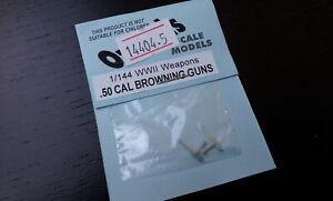 Ozmods OZCONV14404-5 1/144 .50 CAL Browning Machine Guns (2 per pack)