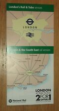 London & SE Rail & Tube Services fold out map - Dec 2016 edition NEW EDITION