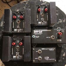 Old School Zapco 150L, 150H 2 Channel amplifier Lot,Rare,Sq,vintage,Rober t Zeff