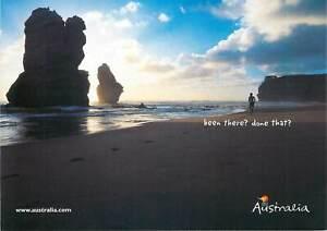 Postcard Australia Victoria The Twelve Apostles Port Campbell beach view