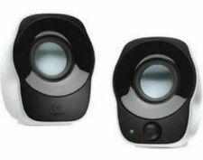 Logitech Z120 Portable Speaker System - White/Black
