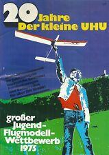 Catalogue 1975 20 jahre der kleine Uhu flugmodell modélisme avion jouet