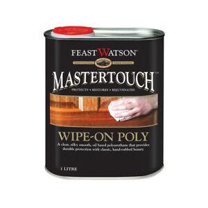 Feast Watson Wipe - On - Poly Clear silky smooth oil base Gun Stock Finish SATIN