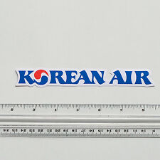 Korean Air Lines South Korea Travel Flight Luggage Label Decal STICKER #2513