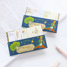 """""""Little Prince ver.1"""" Pack of 4 Cute Sticky Notes Stickers Adhesive Pads Memo"""