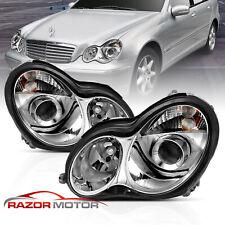 2001-2007 Projector Headlights For Mercedes Benz W203 C-Class C230 C240 C320 (Fits: Mercedes-Benz)