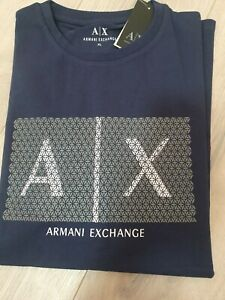 ARMANI EXCHANGE LOGO T-SHIRT