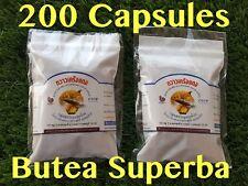 200 X Organic Butea superba - Red Kwao Krua Herbal Capsules SEXUAL ENHANCER