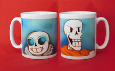 Sans and Papyrus fanart Undertale Inspired Coffee Tea Mug 11oz
