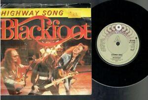 BLACKFOOT HIGHWAY SONG PS 45 1982