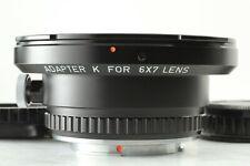 FedEx✈【Aimost Unused】Pentax Genuine Mount Adapter K 6x7 67 Lens from JAPAN