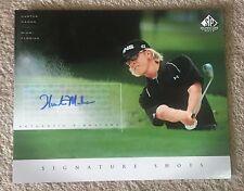 2004 SP Signature Shots Golf 8 x 10 HUNTER MAHAN AUTO Autograph PGA!  👀 ⛳