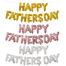 """Oro Rosa Plata """"feliz día de globos de papel de aluminio"""" padres del Día del Padre Decoración De Fiesta"""