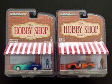 Greenlight The Hobby Shop 2015 & 2011 Nissan Gt-r 2 Die-cast Cars FALKEN