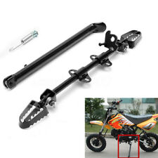 Pit Dirt Bike Side Foot Peg Footpeg Mount Rest Kick Stand 110cc 125cc 140cc