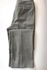 Ann Taylor Loft Career Dress Pants Size 0 Womens Gray Stretch Double Waistband