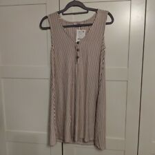 Pull and Bear Striped Dress - Size Small