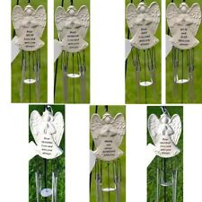 Dear Mum Guardian Angel Love & Miss You Graveside Memorial Wind Chime Ornament