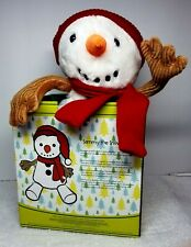 New Retired Scentsy Buddy - Sammy the Snowman ⛄� New With Box