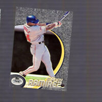 1998 Topps Tek Pattern 16 Manny Ramirez #66 Cleveland Indians star pre Red Sox