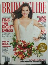 Bridal Guide Jan Feb 2017 Find the Right Dress Perfect Ceremony FREE SHIPPING sb