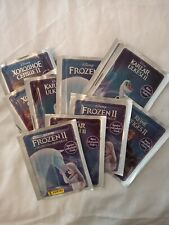 19 SEALED PACKETS OF PANINI FROZEN II ALBUM STICKERS