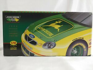 New 1998 John Deere Stock Car Chad Little Limited Edition 1:18 Scale Ertl
