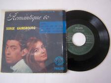 EP 4 TITRES VINYL 45 T , SERGE GAINSBOURG , JUDITH , CHA CHA DU LOUP VG - / VG .