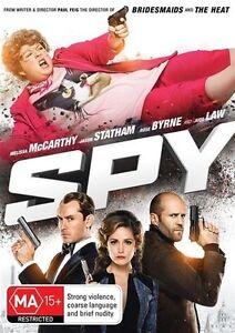 Spy (DVD, 2015)Australian Stock