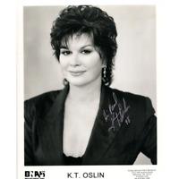 K.T. Oslin Autographed 8x10 Photo