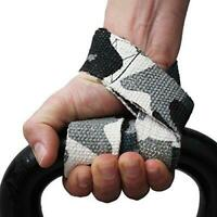 Weight Lifting Training Gym Straps Hand Bar Wrist Support Wrap Gel Glove Power B