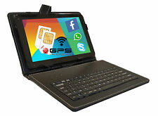10 ZOLL TABLET PC QUAD CORE 4x 1,5Ghz ★32GB★ ANDROID 2x SIM SLOT DUAL 2GB RAM