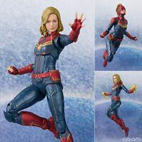 Avengers Endgame Captain Marvel  Action Figure Model Anime Collection Toys