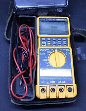 Metrix MX 51EX Intrinsically Safe Digital Multi Meter With Case & Leads DMM