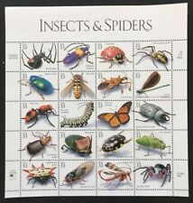 US  #3351 Sheet of 20 Stamps 33c, INSECTS AND SPIDERS MNH 1999