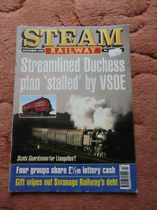 Steam Railway Magazine December 1999 Used but in good condition for age