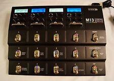 Line 6 M13 Stompbox Modeler Guitar Multi Effects Pedal Board