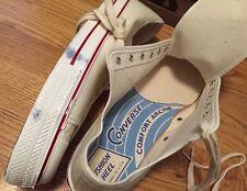 Vintage 60s Converse Blue Label Athletic Footwear Canvas Low Top Shoes. US  Sz.11 fbe0a2055