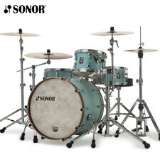 """NEW Sonor SQ1 Series 24"""" 3 Piece Drum Shell Pack Cruiser Blue SQ1-324NMCCRB"""