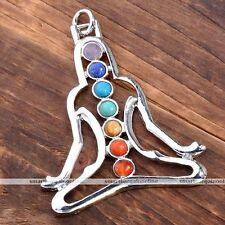 1 Pc Reiki Healing Energy Crystal Guided Meditation Chakra Pendant Necklace